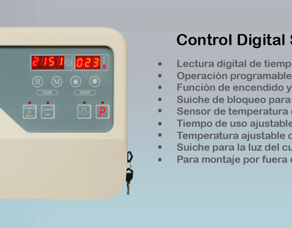 CONTROL DIGITAL SAUNA